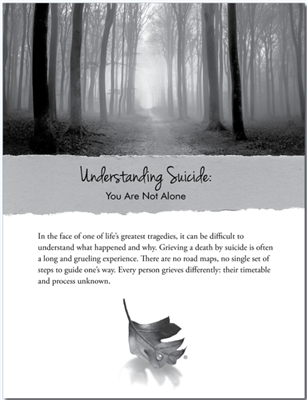 RTS 4139-E Understanding Suicide: You Are Not Alone
