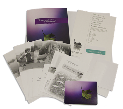 RTS 2021-E Adult Bereavement Sample Kit